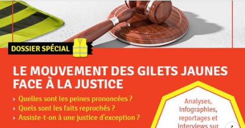 Le mouvement des gilets jaunes face à la justice