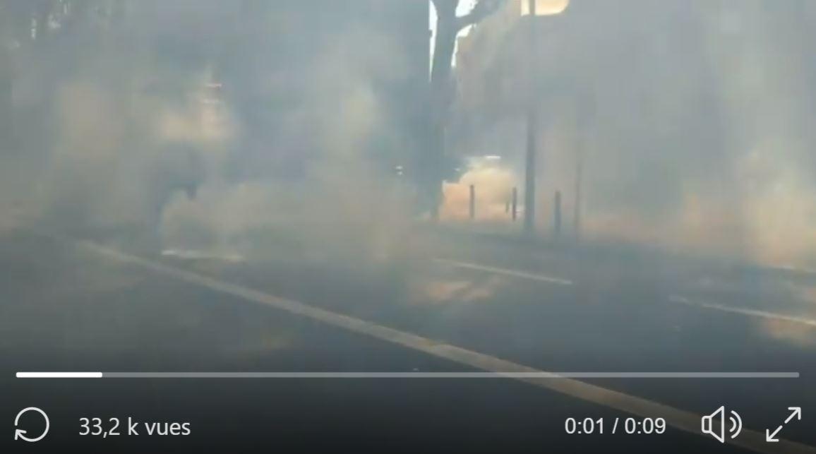 Gazage massif à Toulouse