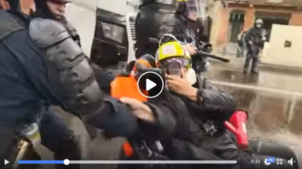 Violence policière sur des handicapés