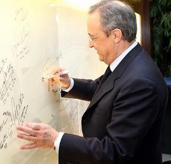 Florentino Pérez (Espagne)