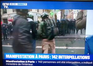 Samedi : 1,5 policiers par manifestant